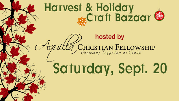 Harvest and Holiday Craft Bazaar