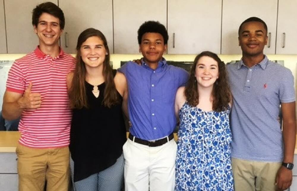Gilmour Senior Interns at Boys & Girls Clubs of Cleveland