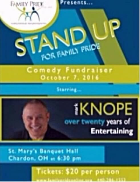 Stand Up For Family Pride At Comedy Night Geauga News