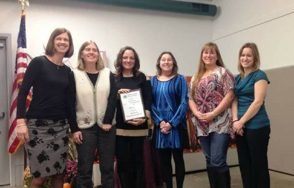 "Newbury Elementary's ""Wet Labs"" Program Receives Special Recognition from Geauga SWCD"