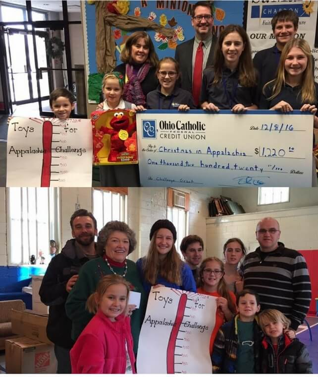 Long Standing Tradition of Giving to Appalachia Continues at St. Mary