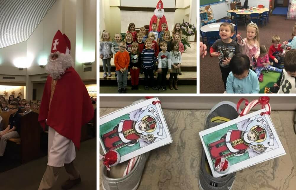 The Tradition of St. Nick Lives on at St. Mary School
