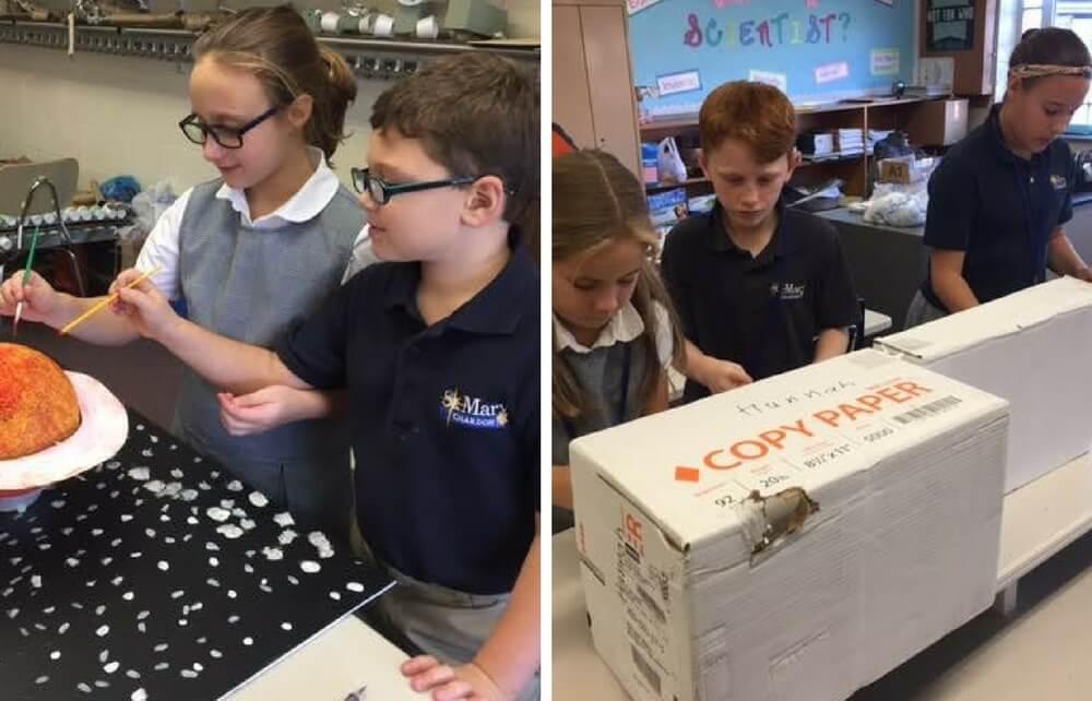 St. Mary School Chardon Pursuing Ohio STEM School Designation