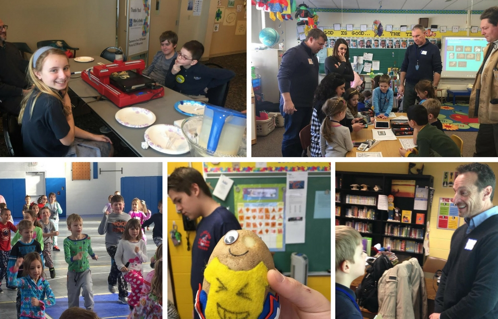 Celebrating Catholic Schools Week with Science and Service at St. Mary School