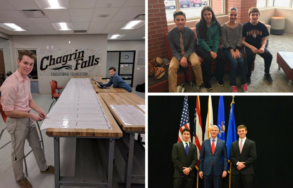 News You Can Use from Chagrin Falls Schools!