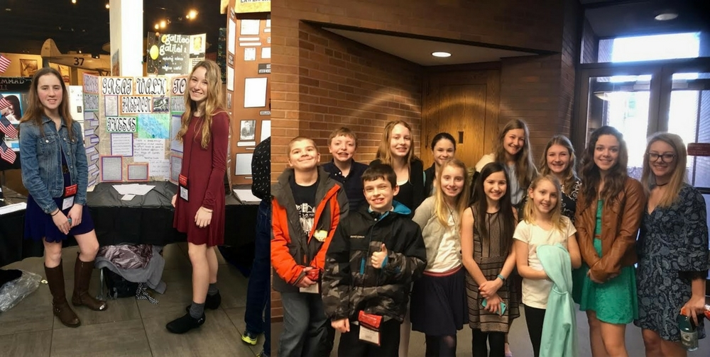 St. Mary Junior High Compete in National History Day Event at Case Western Reserve