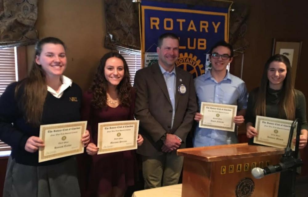 Chardon Rotary Club – Annual 4-Way Speech Contest