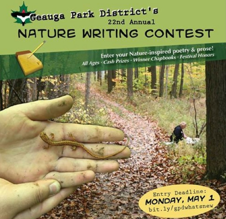 Call for Entries: Nature Writing Contest – Geauga Park District's 22nd Annual Writing Contest!