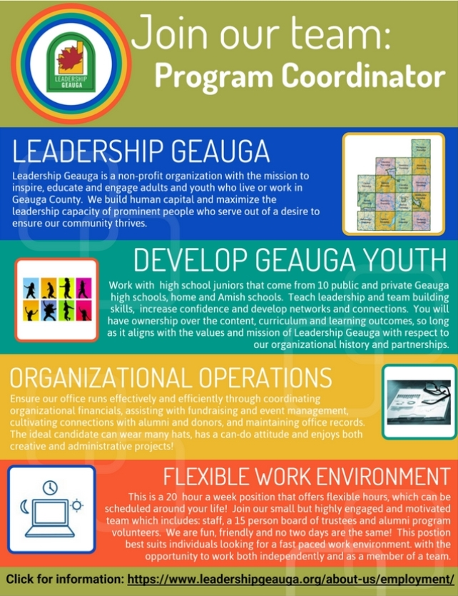 Join the Leadership Geauga Team!