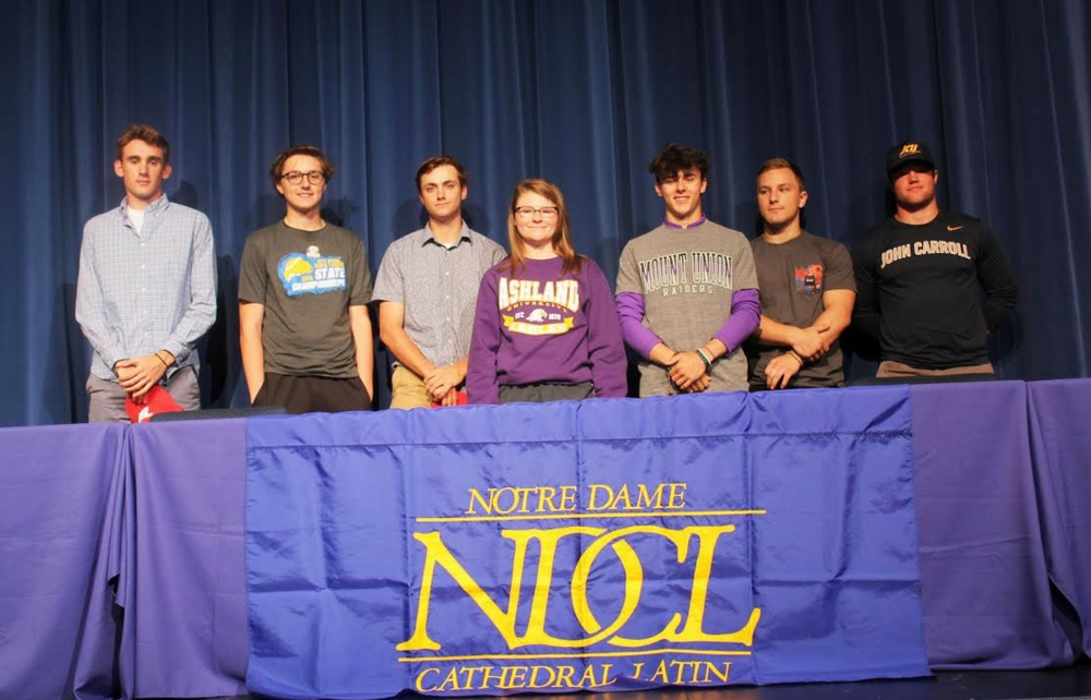 NDCL's Student-Athletes Commit to Play in College