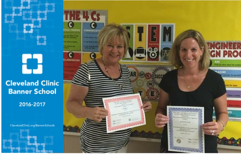 Small School Receives Big Honor: St. Mary School Chardon Recognized as Cleveland Clinic Banner School