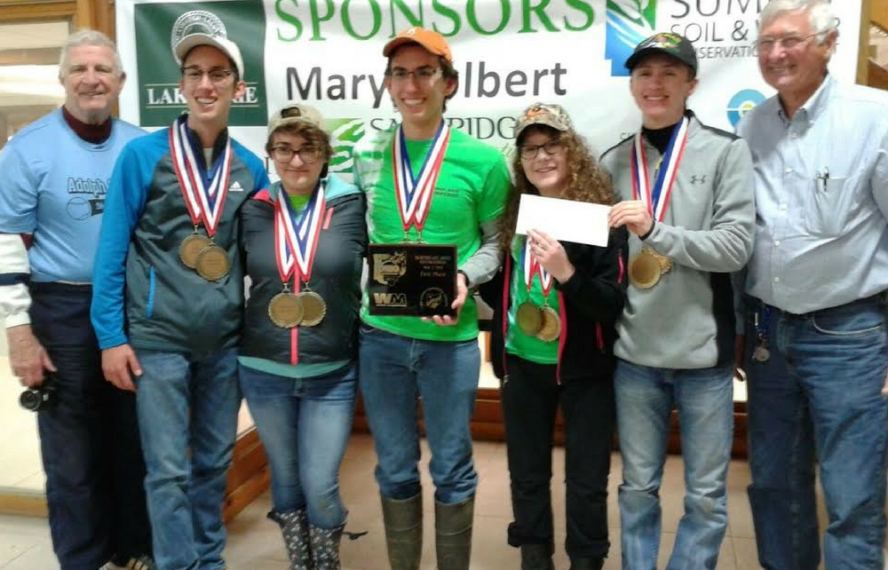 Envirothon Team Takes 1st Place at District Competition