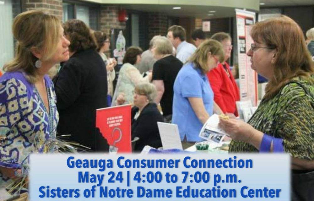 """Geauga Consumer Connection Show Offers Consumer Favorites  Consumers can """"try before they buy"""""""
