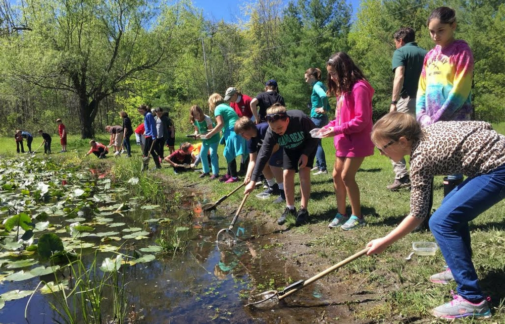 Kenston Fifth Graders Visit Geauga Park District's Rookery for Nature Scopes Program