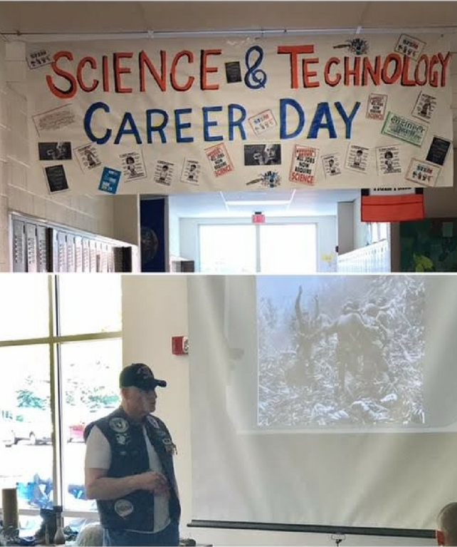 Careers in Science Day at Chagrin Falls Middle School