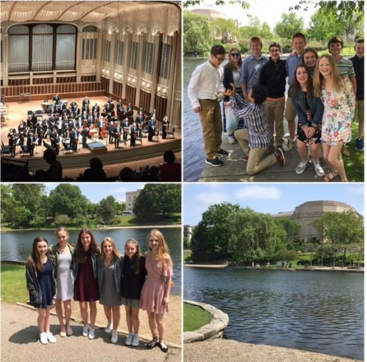 Chagrin Falls Middle School Attends Concert at Severance Hall