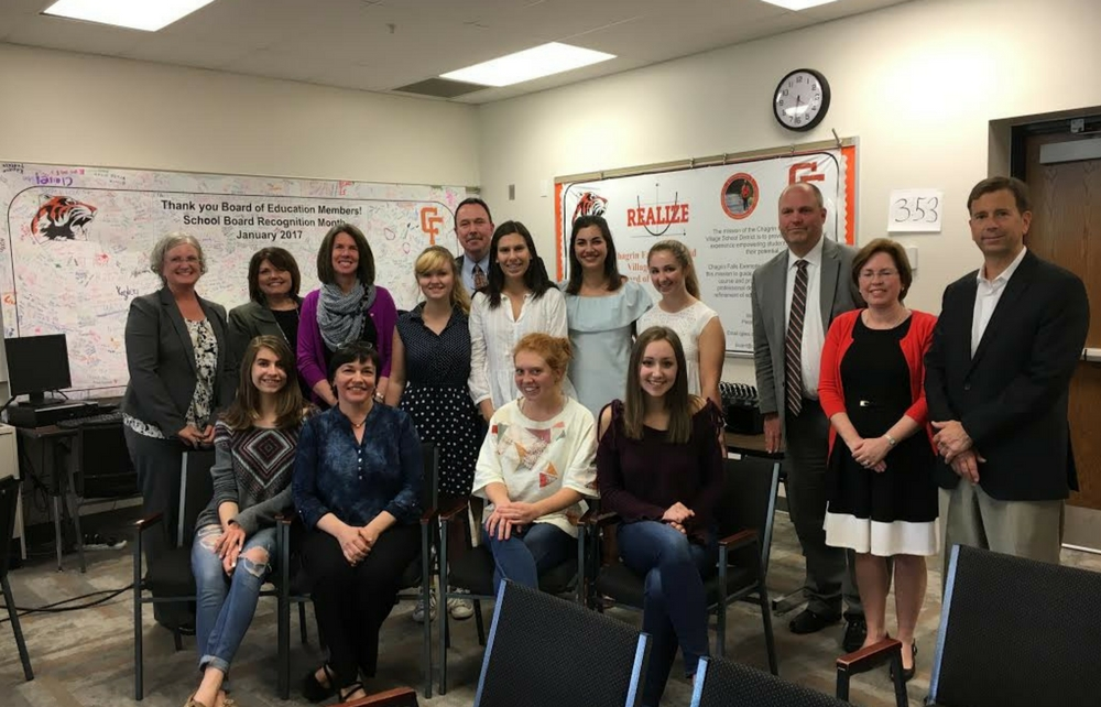 Eight Students at Chagrin Falls High School Participate in New AP Research Class
