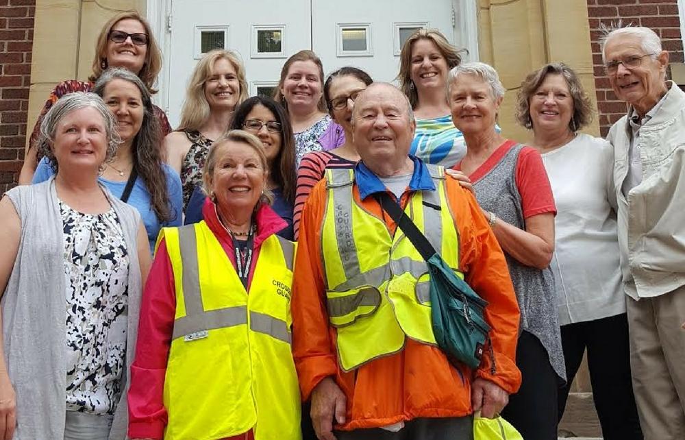 Chagrin Falls School District Thanks Volunteer Crossing Guards!