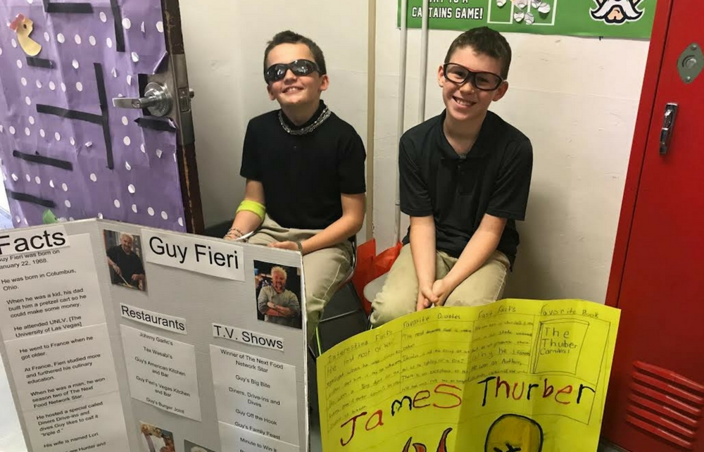 Famous Ohioans Finish the Year at Cardinal Intermediate School!