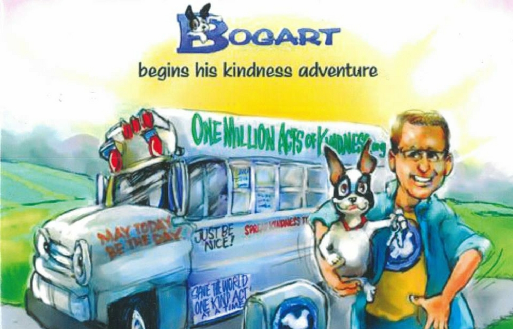 "Rescue Village Launches Speaker Series with Celebration of ""One  Million Acts of Kindness"" from Bob Votruba and his dog Bogart"