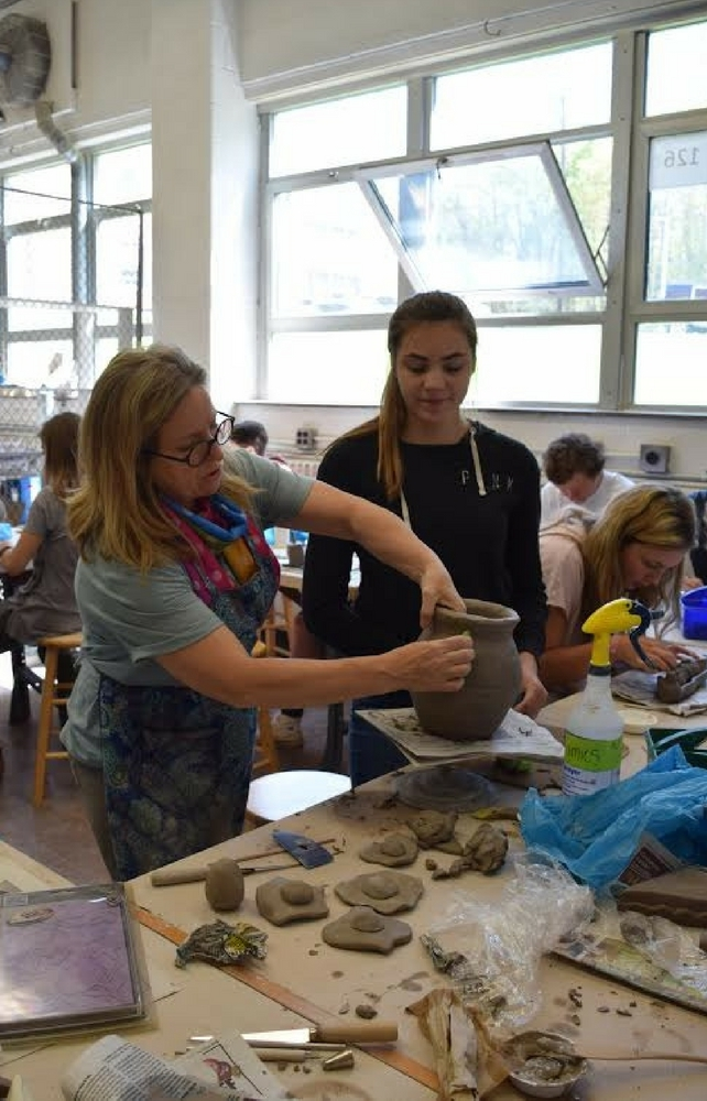 Chagrin Falls Students Benefit from Artist in Residence Program