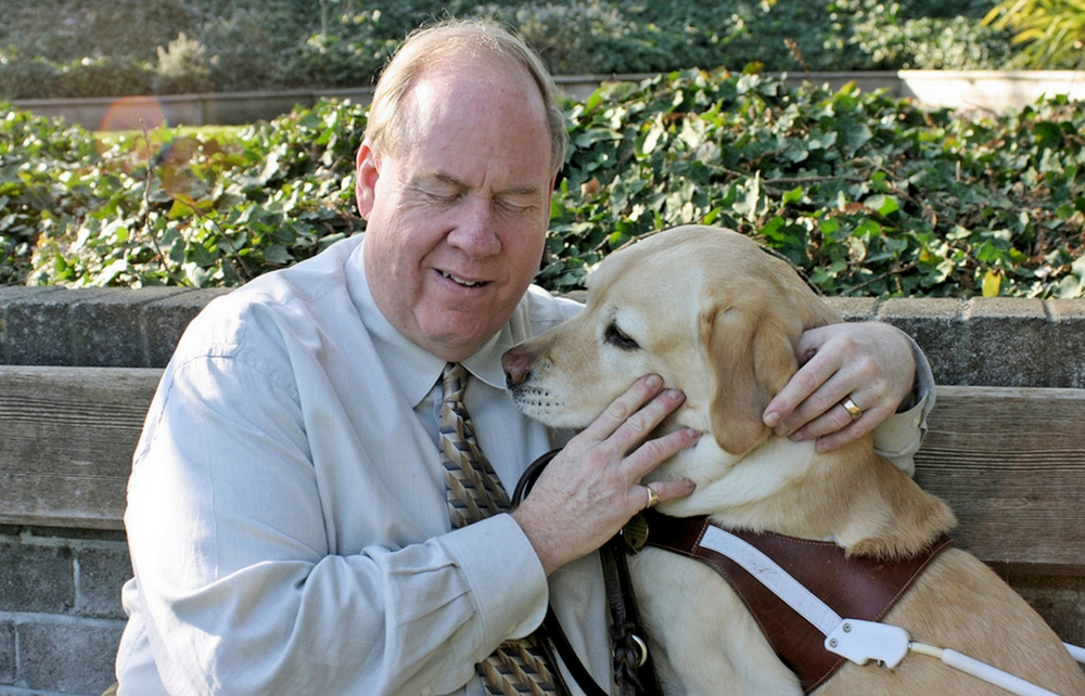 9/11 Survivor and Bestselling Author Michael Hingson Visits Geauga County Public Library to Share How He Escaped the World Trade Center with His Seeing-eye Dog, Roselle