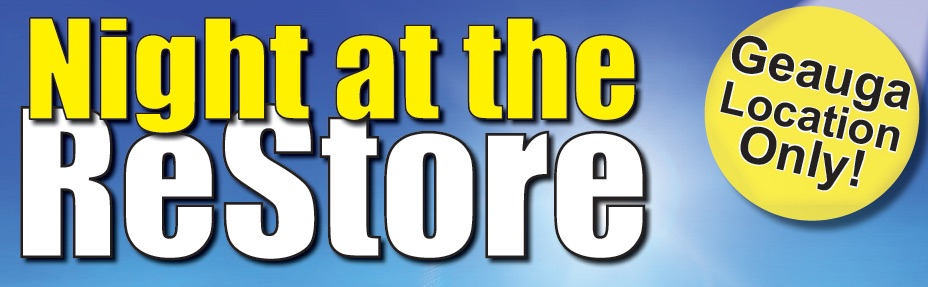 Lake-Geauga Habitat for Humanity ReStore Hosts 'Night at the ReStore' Event