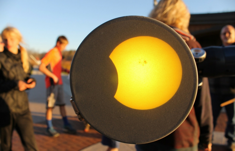 Observatory Park Will Be Safe Daytime Viewing Location of Awesome Partial Solar Eclipse on Monday, August 21st!