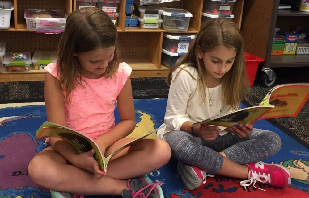 Buddy Reading Program at Chagrin Falls Schools Aims to Increase Student Success in Reading
