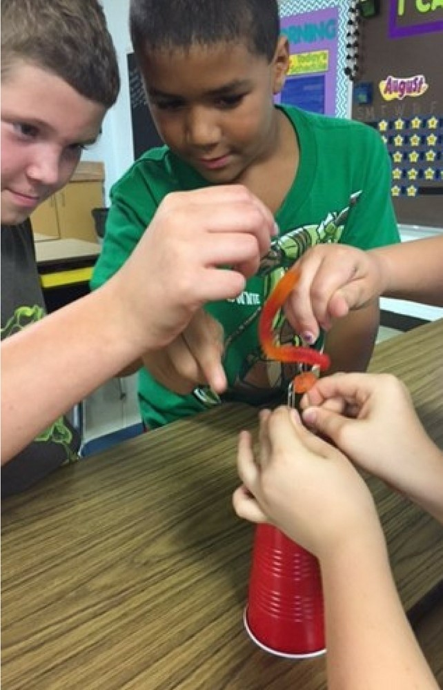 Third Grade Classes at Ledgemont Elementary School Learn Teamwork through STEM Activities
