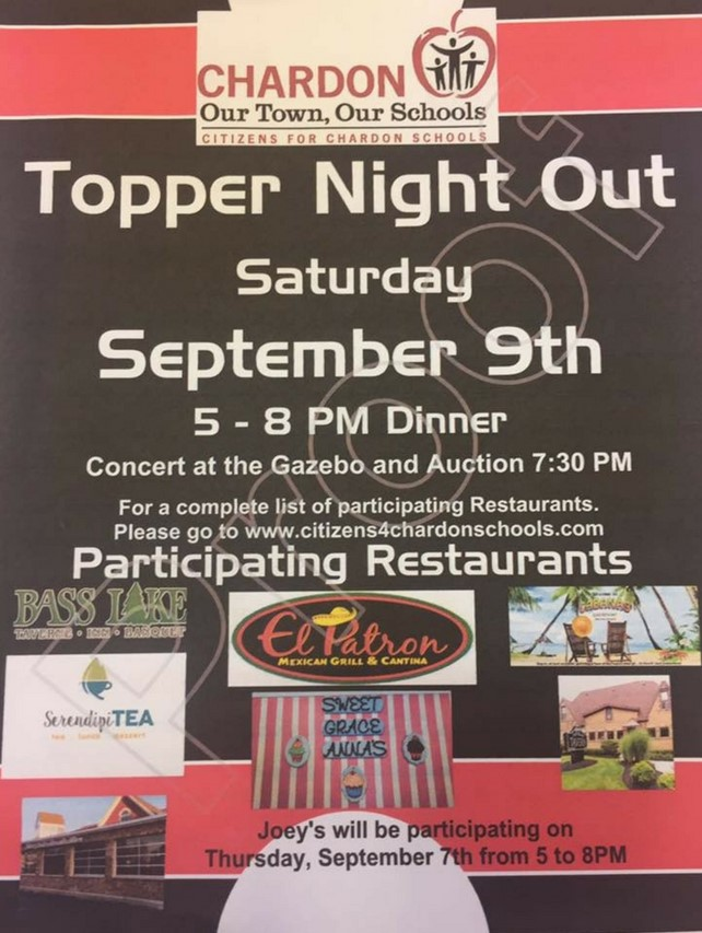 Topper Night Out on Chardon Square