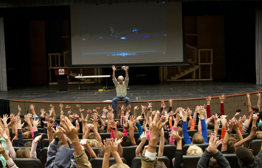 Children's Author Visits Chagrin Falls Schools with Message of Courage, Resilience, Acceptance and Exploring the Unknown