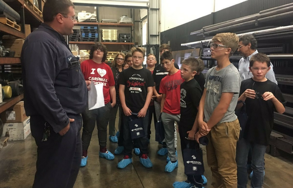 Cardinal Middle School 8th Graders Explore Careers