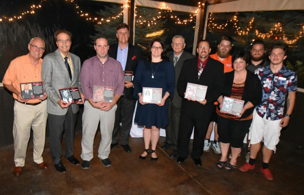 The Class of 2017 Cardinal Hall of Fame and Distinguished Alumni Inductees Honored