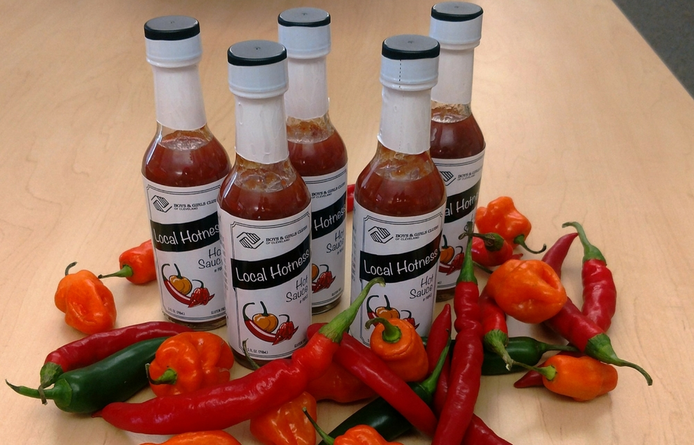 Local Hotness! Boys & Girls Clubs of Cleveland Now Has Its Own Hot Sauce