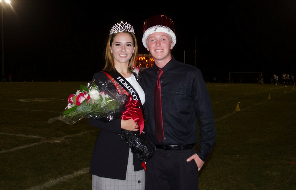 Cardinal High School Crowned Homecoming King and Queen!