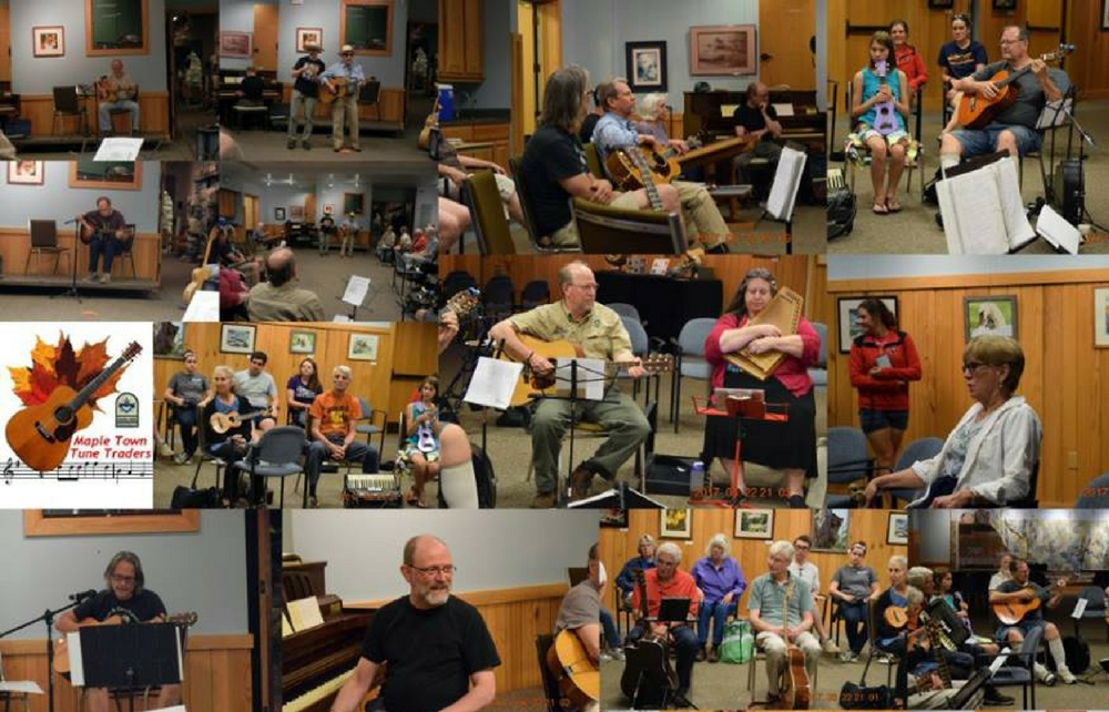 Enjoy Geauga Park District's Maple Town Tune Traders Every Fourth Thursday at The West Woods Nature Center