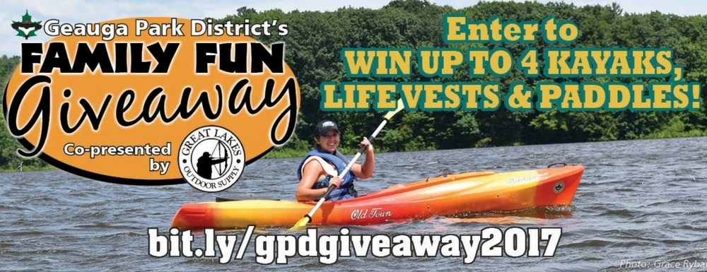 Geauga Park District's New Family Fun Giveaway is Here!