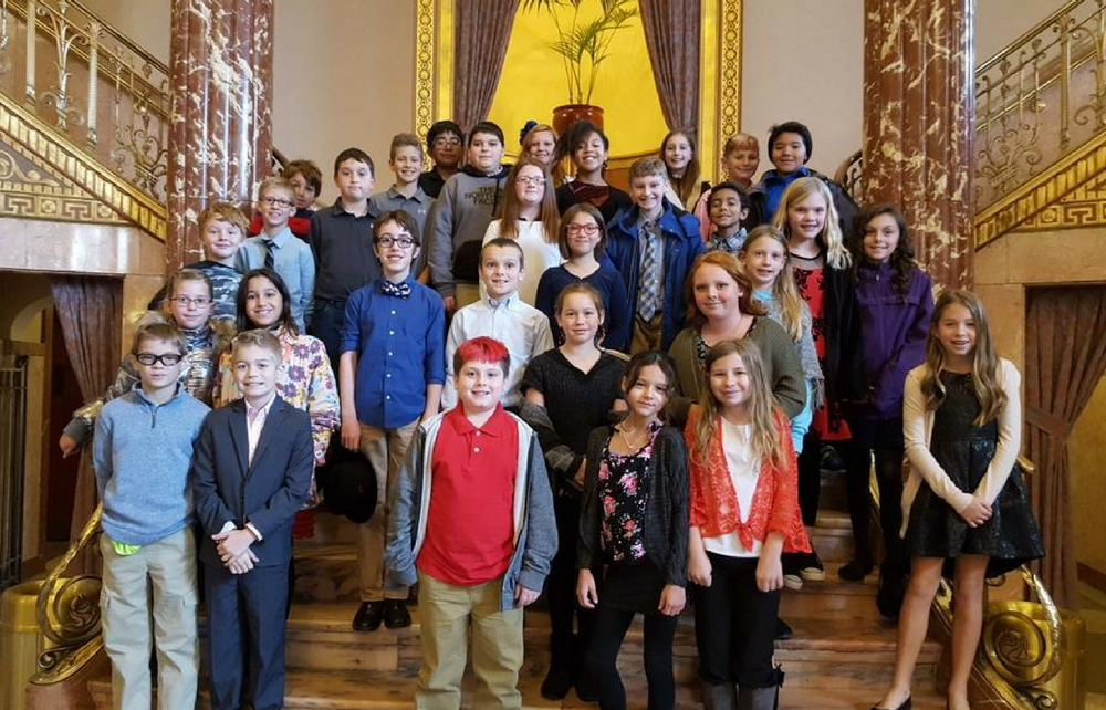Fifth Graders from all Four Chardon Elementary Schools Visit Historic Severance Hall