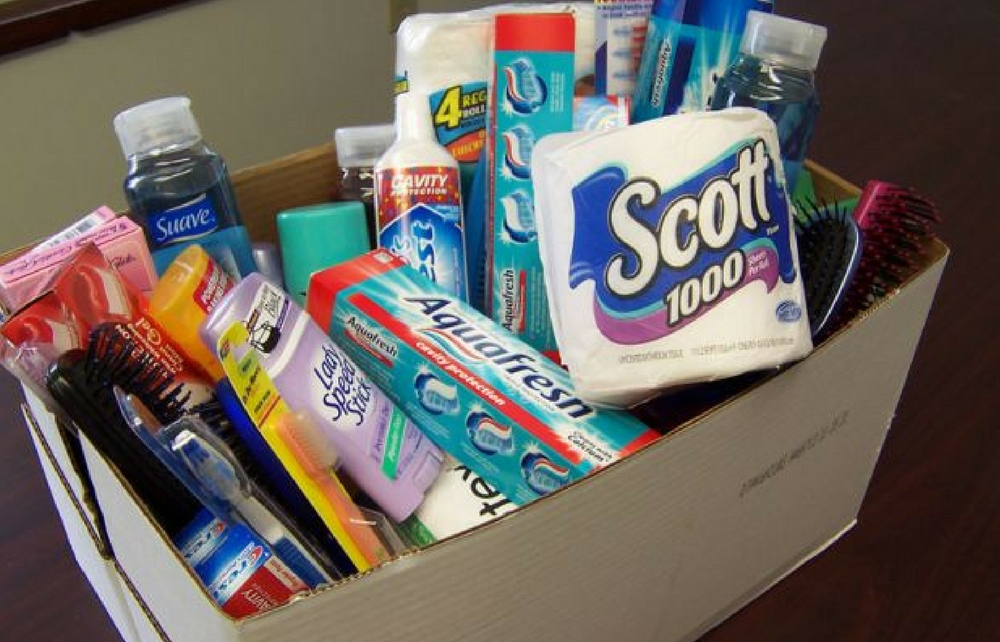 Geauga County Public Library Branches Partner with United Way Services of Geauga Countyto Distribute Donations of Personal Care Items