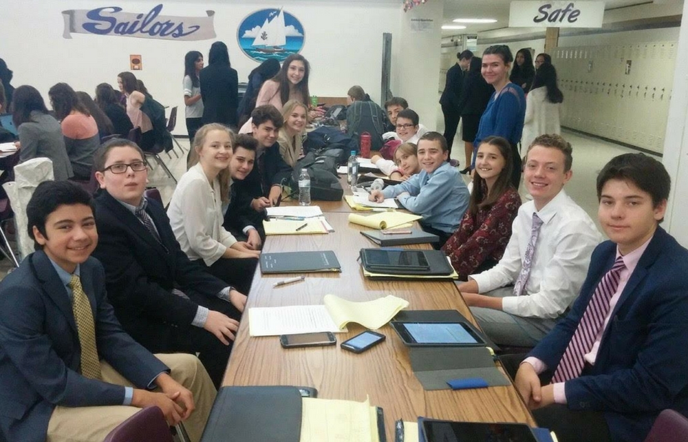 Kenston Students Compete in Speech and Debate Tournament