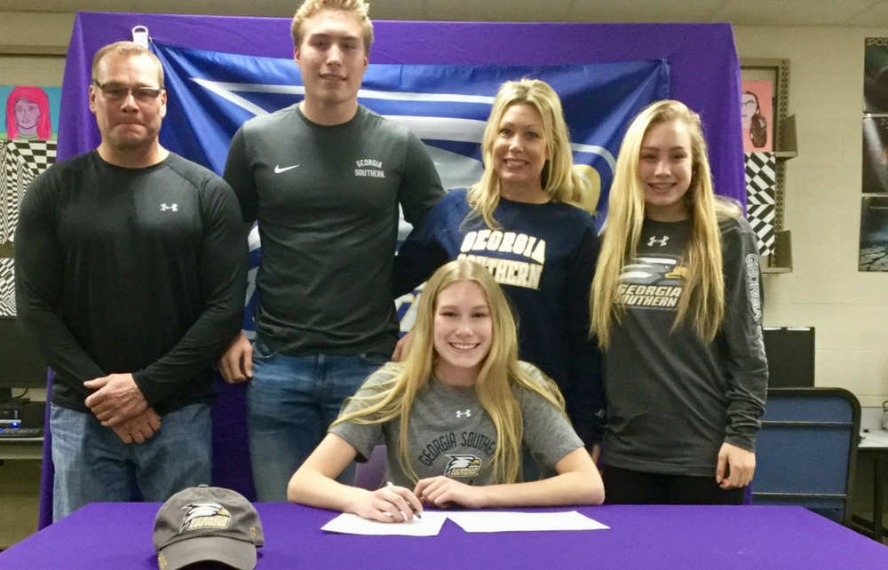 Berkshire's Tucek Signs with Division I Georgia Southern