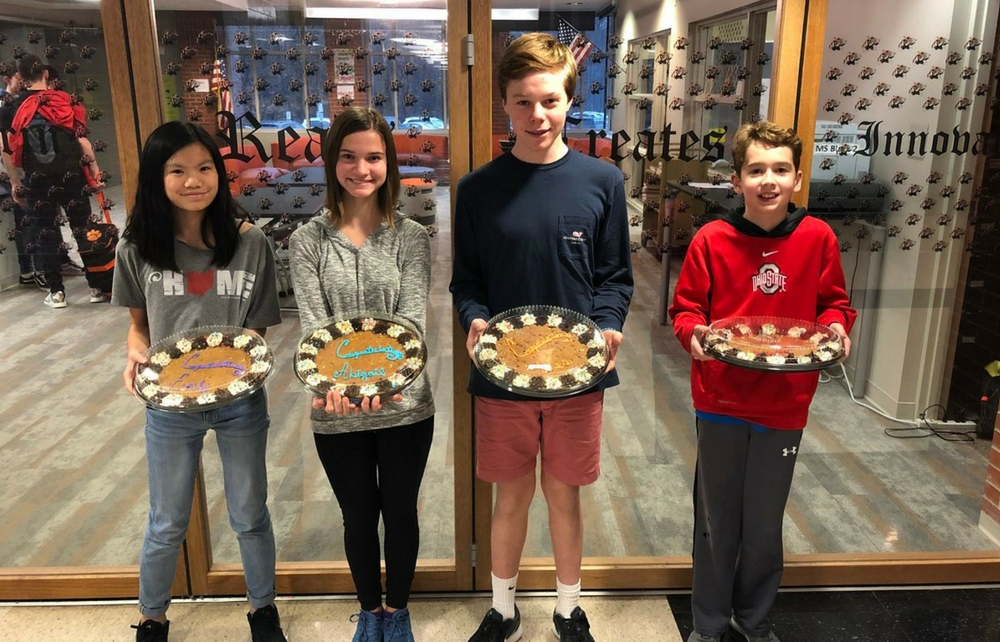 Chagrin Falls Middle School Names November Students of the Month