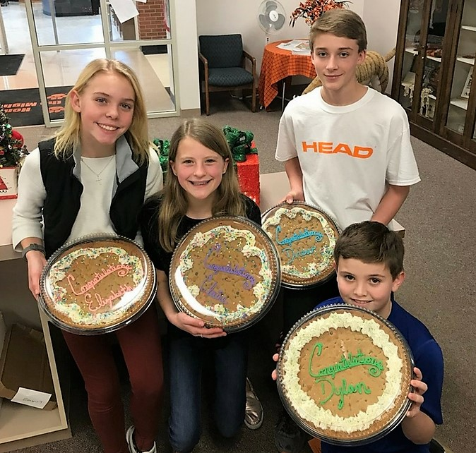 Chagrin Falls Middle School Names December Students of the Month