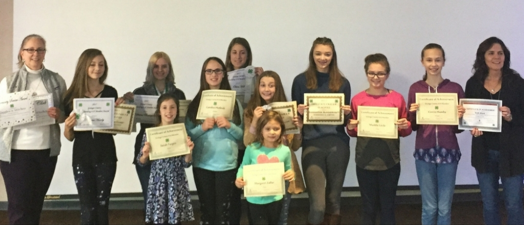 Giggles 'n Stitches 4-H Club Recognized