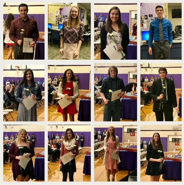 Congratulations to Berkshire High School National Honor Society Inductees!