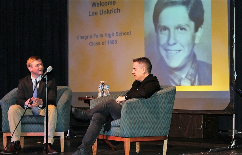 Director of Coco, #1 Film in the U.S. and Internationally, and Chagrin Falls Alumnus, Visits Chagrin Falls Schools