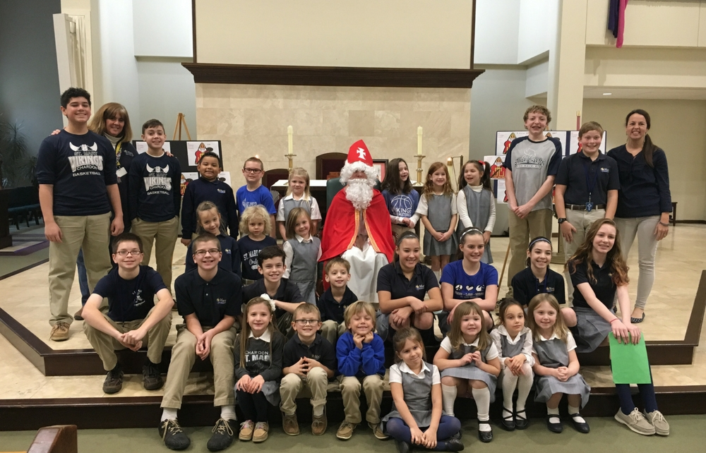 The Spirit of Christmas and the Advent Season are Ringing Through the Halls of St. Mary Chardon