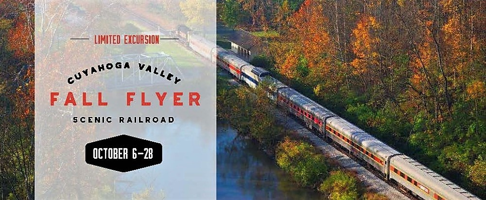 fall flyer train ride returns to cuyahoga valley scenic railroad