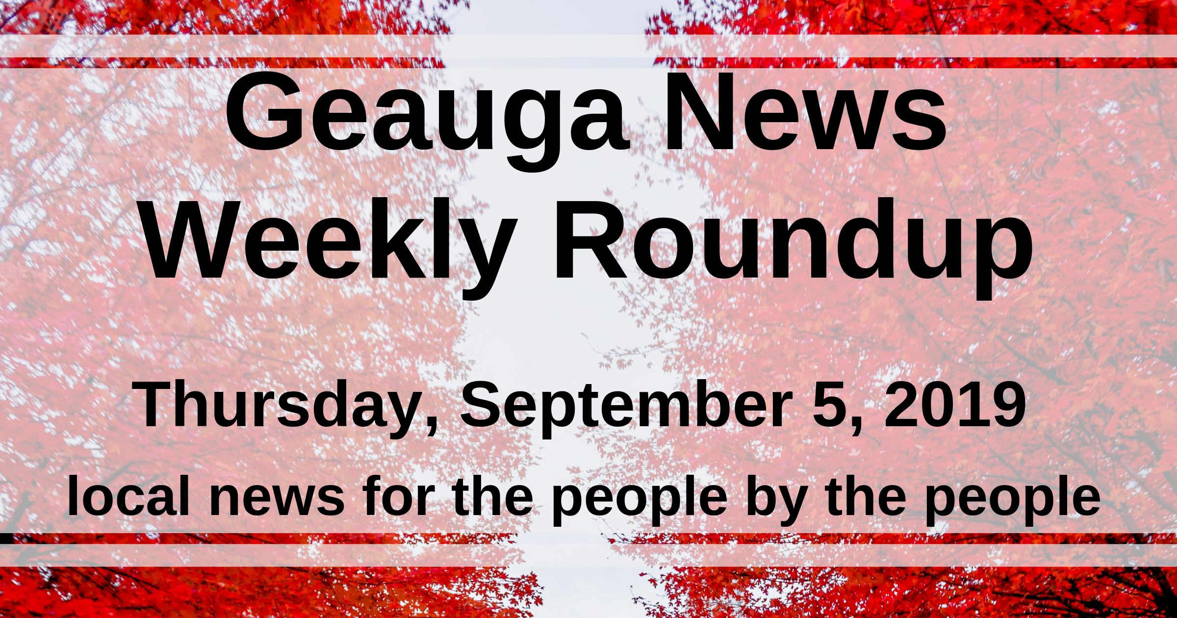 Geauga News - local news for the people by the people
